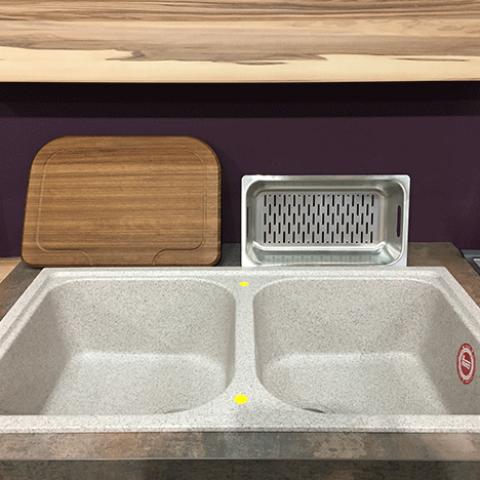 Кухонная мойка Teka ALBA 90 B-TG (88688) песочный