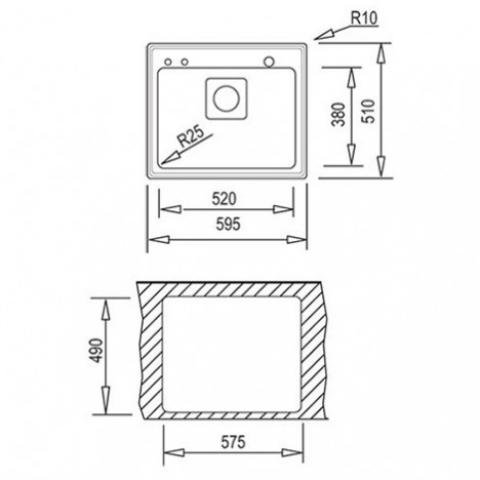 Кухонная мойка Teka FRAME 1B Plus (40180500) полированная
