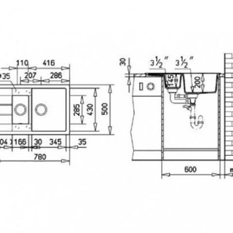 Кухонная мойка Teka ASTRAL 60 B-TG (40143525) алебастр