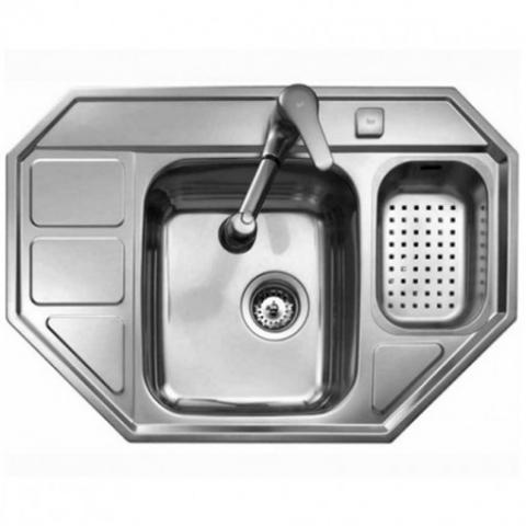Кухонная мойка Teka CUADRO 60 E (30000781) полированная