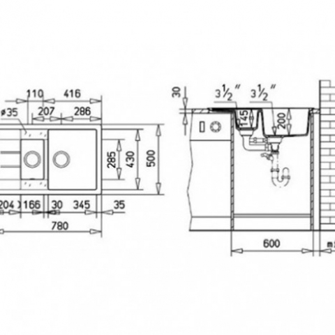 Кухонная мойка Teka ASTRAL 60 B-TG (40143530) ваниль