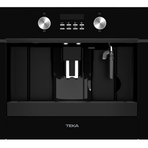 Кофеварка встраиваемая Teka UrbanColor CLC 855 GM BK (111630004) черное стекло