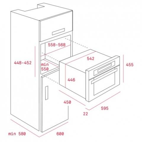 Электрический духовой шкаф Teka Rustica MWR 32 BIA (111940000) черный