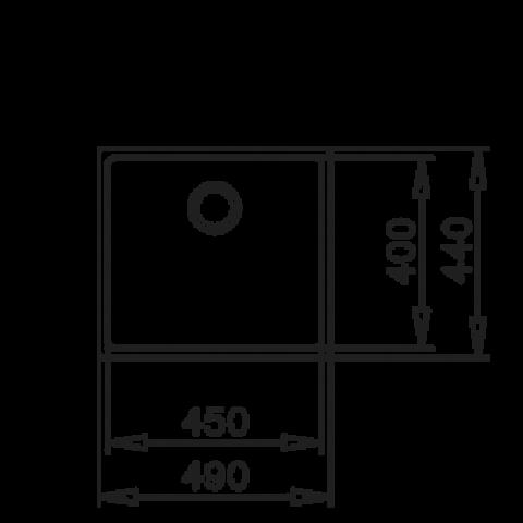 Кухонная мойка Teka BE LINEA RS15 45.40 (115000006) полированная