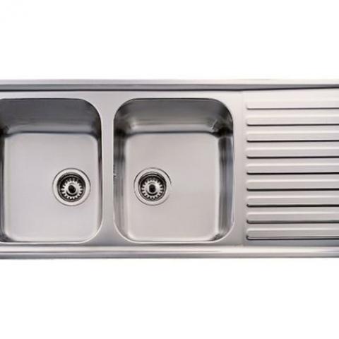 Кухонная мойка Teka CLASSIC 2B 1D (10119023) полированная