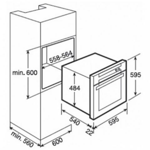 Электрический духовой шкаф Teka HL 835 (Ethos) (41557310) нержавеющая сталь