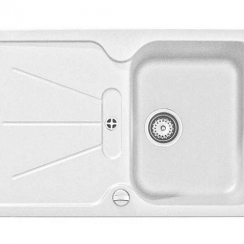 Кухонная мойка Teka CARA 45B TG (40144400) белый