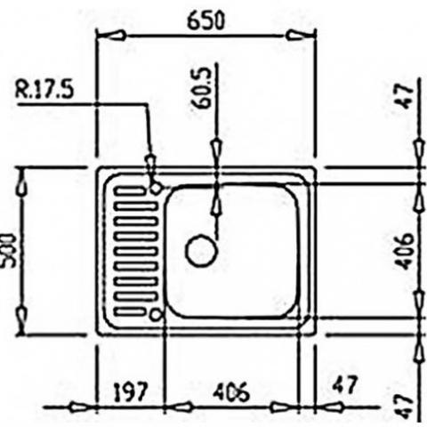 Кухонная мойка Teka CLASSIC 1B (30000053) микротекстура
