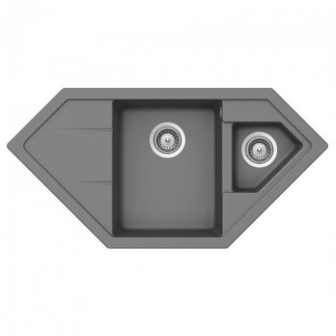 Кухонная мойка Teka ASTRAL 80 Е-TG (40143533) серый металлик
