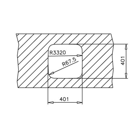 Кухонная мойка Teka BE 40.40.20 (10125152) нержавеющая сталь