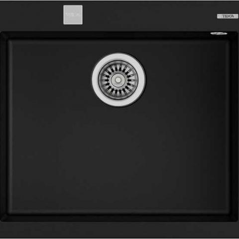 Кухонная мойка Teka FORSQUARE 50.40 TG (115230005) черный