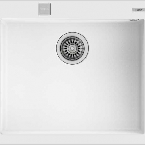 Кухонная мойка Teka FORSQUARE 50.40 TG (115230009) белый