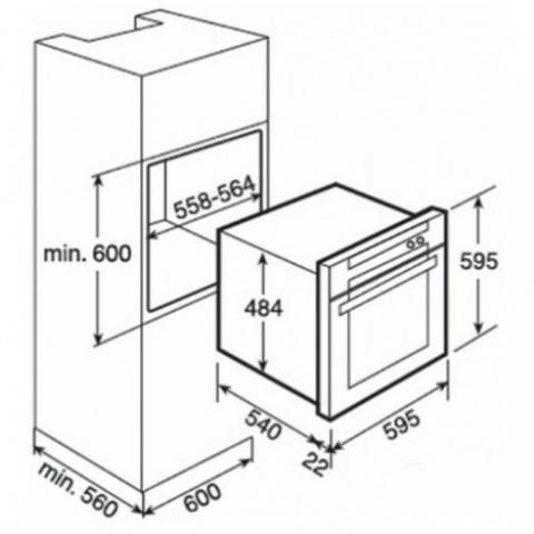 Электрический духовой шкаф Teka HL 850 (Ethos) HYDROCLEAN (41555610) нержавеющая сталь