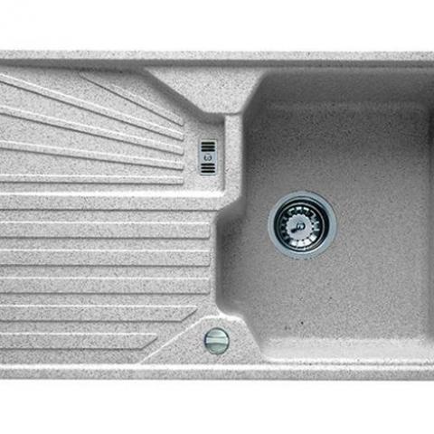 Кухонная мойка Teka CASCAD 45B TG (40143107) алебастр