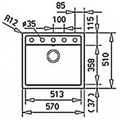 Кухонная мойка Teka MENORCA 60 S TG (40144572) ваниль