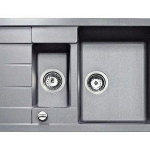 Кухонная мойка Teka ASTRAL 60 B-TG (88956) серый металлик