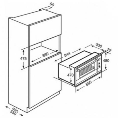 Электрический духовой шкаф Teka HL 940 (Ethos) HYDROCLEAN (41592210) нержавеющая сталь