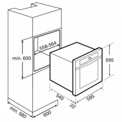 Электрический духовой шкаф Teka HPL 830 (Ethos) (41594230) нержавеющая сталь