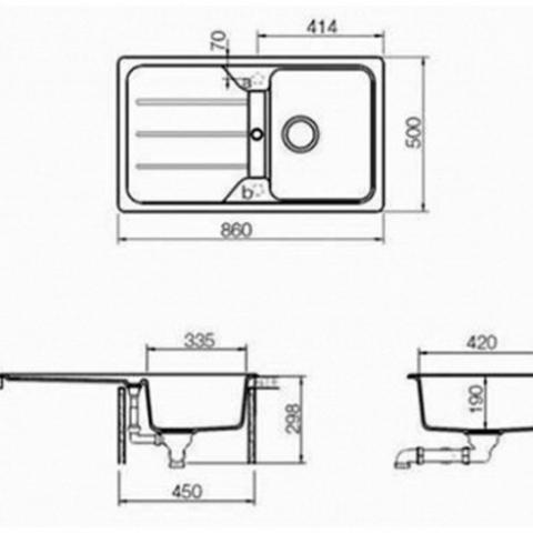 Кухонная мойка Teka SIMPLA 45-TG (40144512) карбон