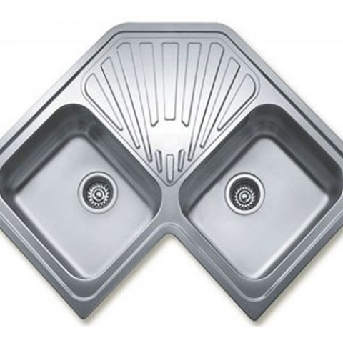 Кухонная мойка Teka CLASSIC ANGULAR 2B (10118005) полированная