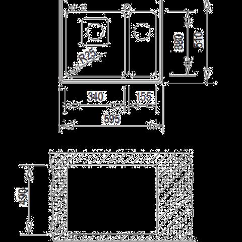 Кухонная мойка Teka FRAME 1 1/2B (40180520) нержавеющая сталь