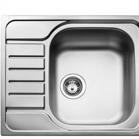 Кухонная мойка Teka UNIVERSAL 580.500 1B 1D (40109615) нержавеющая сталь