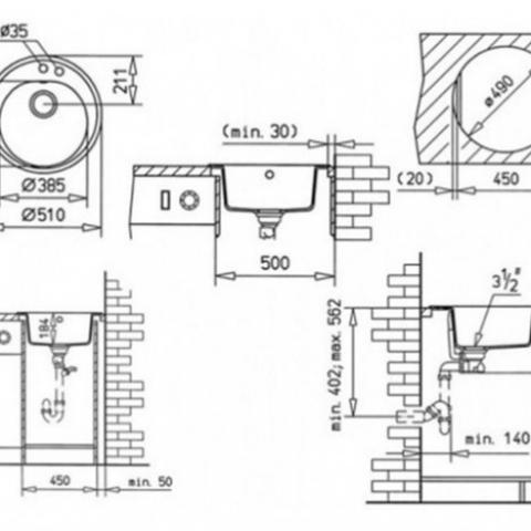 Кухонная мойка Teka CENTROVAL 45 TG (88578) черный металлик