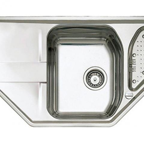 Кухонная мойка Teka STENA 45 E (11131022) полированная