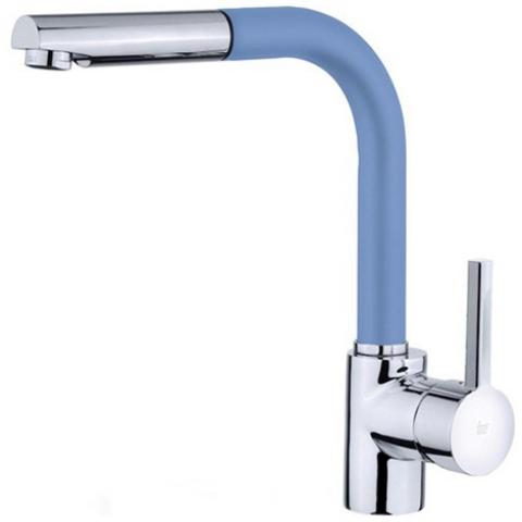 Смеситель кухонный Teka ARK 938 FB (Blue) (23938120FB) синий/хром
