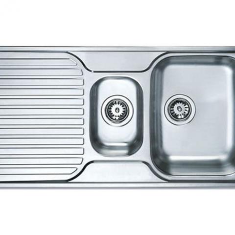 Кухонная мойка Teka PRINCESS 1 1/2 B 1D (30000184) полированная
