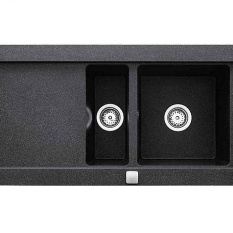 Кухонная мойка Teka AURA 60B TG (88564) черный металлик