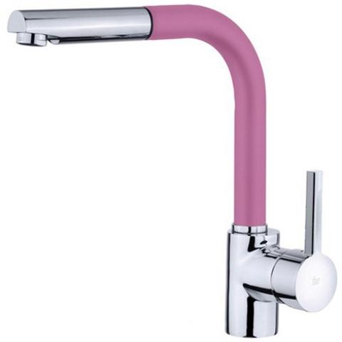 Смеситель кухонный Teka ARK 938 FB (Pink) (23938120FP) розовый/хром
