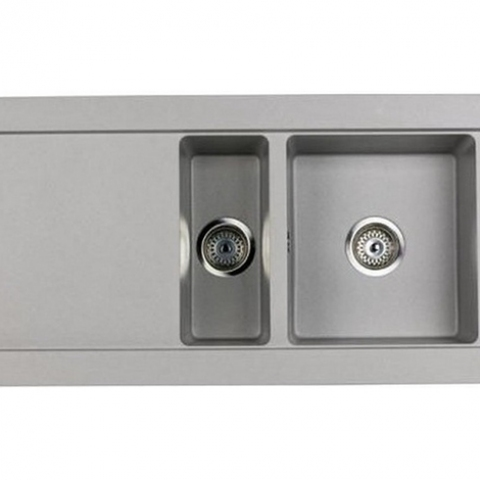 Кухонная мойка Teka AURA 60B TG (88565) серый металлик