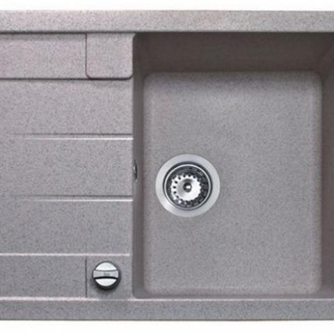 Кухонная мойка Teka ASTRAL 45 B-TG (88946) серый металлик