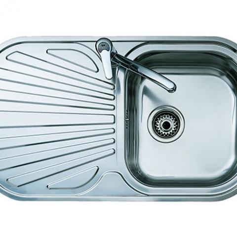 Кухонная мойка Teka STYLO 1B 1D (10107021) полированная