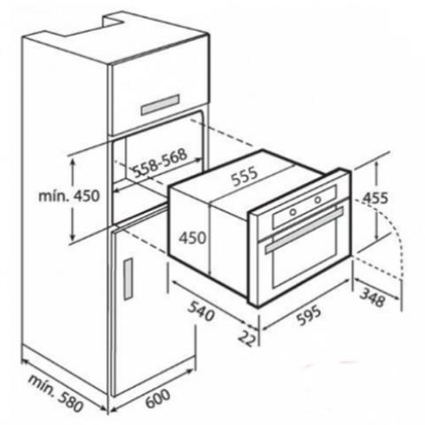 Электрический духовой шкаф Teka HKL 870 (Ethos) HYDROCLEAN (41591050) нержавеющая сталь