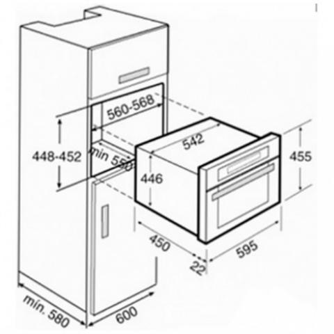 Микроволновая печь встраиваемая Teka MWL 32 BIS (Ethos) (40586100)