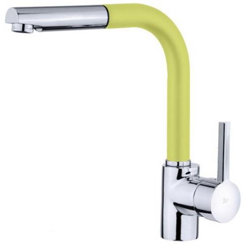 Смеситель кухонный Teka ARK 938 FY (Yellow) (23938120FY) желтый/хром