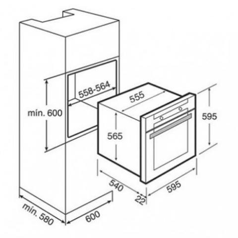 Электрический духовой шкаф Teka COMBO HL 45.15 (Ethos) (41595020) нержавеющая сталь