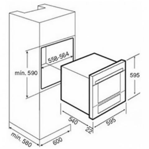Электрический духовой шкаф Teka COMBO HX 45.15 (Expression) (41595000) нержавеющая сталь
