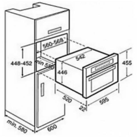 Электрический духовой шкаф Teka HKL 970 SC (Ethos) (40589000) нержавеющая сталь