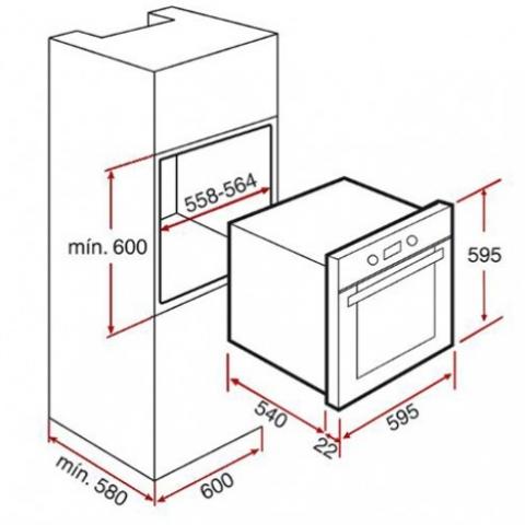 Электрический духовой шкаф Teka HL 840 (Ethos) HYDROCLEAN (41552811) белый