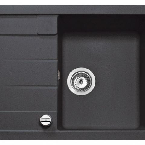 Кухонная мойка Teka ASTRAL 45 B-TG (88947) черный металлик