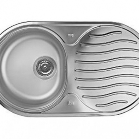 Кухонная мойка Teka DR 78 1B 1D (10130003) нержавеющая сталь