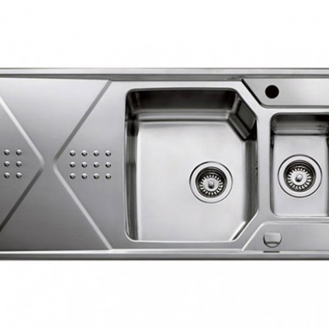 Кухонная мойка Teka EXPRESSION 1 1/2 B 1D (12126011) нержавеющая сталь