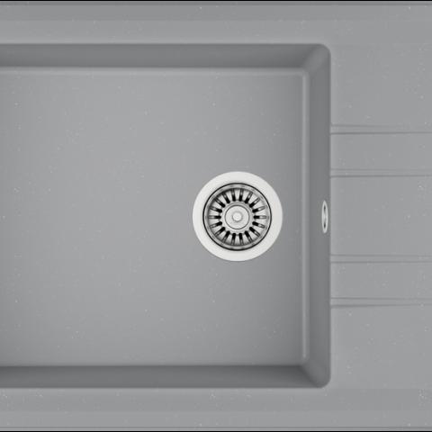 Кухонная мойка Teka STONE 60 S-TG 1B 1D (115330028) серый металлик