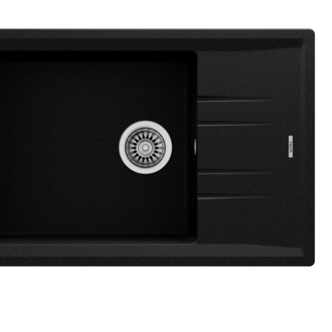 Кухонная мойка Teka STONE 60 S-TG 1B 1D (115330031) черный металлик