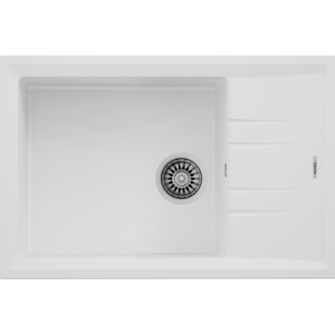 Кухонная мойка Teka STONE 60 S-TG 1B 1D (115330033) белый