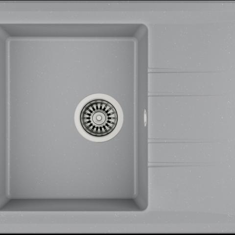 Кухонная мойка Teka STONE 45 S-TG 1B 1D (115330042) серый металлик