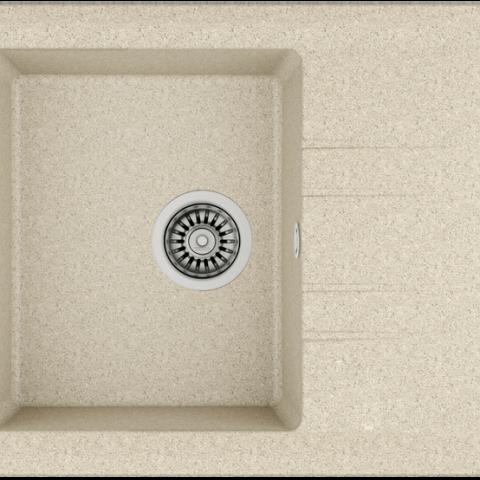 Кухонная мойка Teka STONE 45 S-TG 1B 1D (115330044) песочный